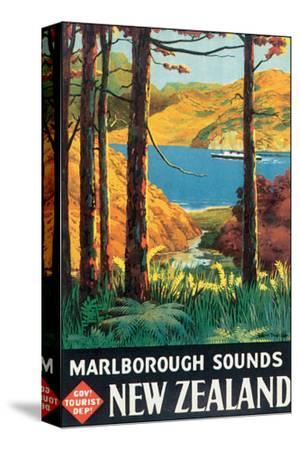 Marlborough Sounds, New Zealand by L. C. Mitchell