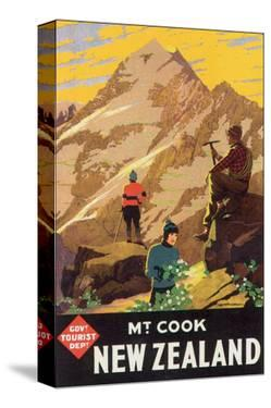 Mt. Cook, New Zealand by L. C. Mitchell