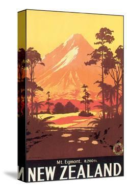 New Zealand, Mt. Egmont by L. C. Mitchell