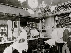 L.C. Wiseman, Barber Shop, New York City