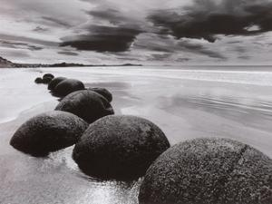 Boulders on the Beach by L. Dixon