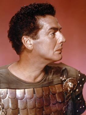L'egyptien (THE EGYPTIAN) by Michael Curtiz with Victor Mature, 1954 (photo)