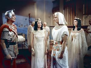 L'egyptien (THE EGYPTIAN) by Michael Curtiz with Victor Mature, Gene Tierney and Michael Wilding, 1
