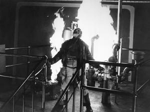 L'enfer est a lui, WHITE HEAT by RAOULWALSH with James Cagney, 1949 (b/w photo)