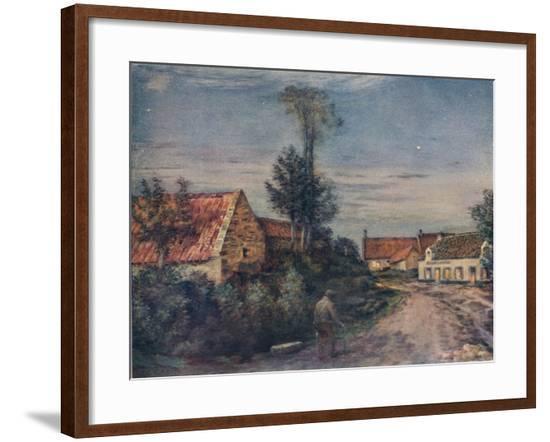 'L'estaminet', c1889-Jean-Charles Cazin-Framed Giclee Print