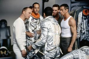 L'Etoffe des heros (The Right Stuff) by PhilipKaufman with by gauche a droite Ed Harris, Charles Fr