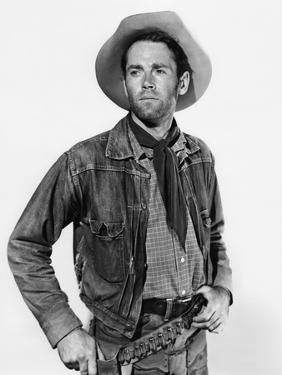 L'etrange incident OX-BOW INCIDENT by William Wellman with Henry Fonda, 1943 (b/w photo)