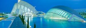 L'Hemisferic Planetarium and El Palau De Les Arts Reina Sofia, Ciutat De Les Arts I Les Ciencies