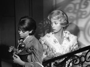 L'HOMME A FEMMES by JACQUES-GERARD CORNU with Catherine Deneuve and Danielle Darrieux, 1960 (b/w ph