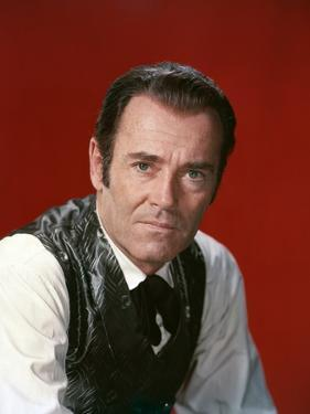 L'Homme aux colts d'or WARLOCK by EdwardDmytryk with Henry Fonda, 1959 (photo)