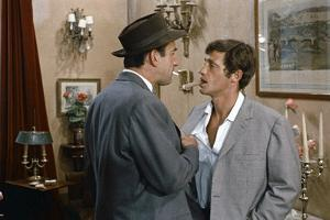 L'homme by Rio by PhilippedeBroca with Daniel Ceccaldi and Jean-Paul Belmondo, 1964 (photo)