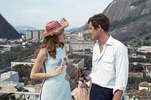 L'homme by Rio by PhilippedeBroca with Francoise Dorleac and Jean-Paul Belmondo, 1964 (photo)