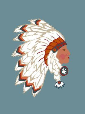 Indian Chief by L Megroz