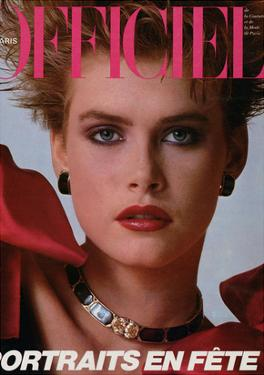 L'Officiel, December 1983 - Christian Dior Boutique
