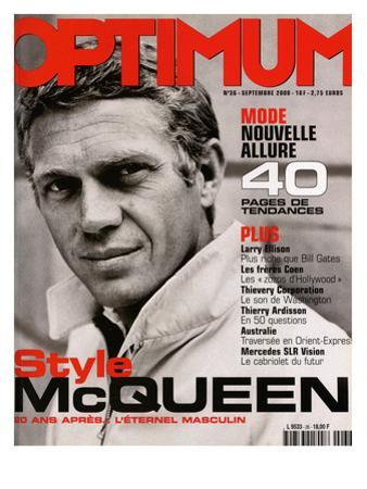 L'Optimum, September 2000 - Steve Mcqueen