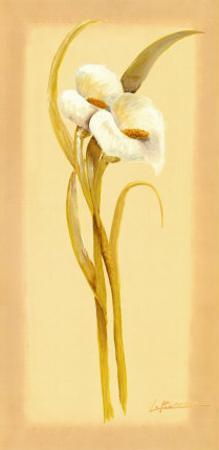 White Lilies I by L. Romero