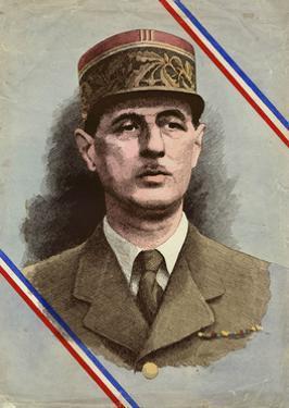 Charles de Gaulle by L. Serre
