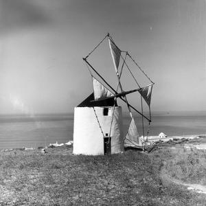 Ericeira Windmill by L. V. Clark