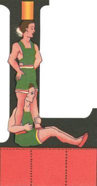 L with Acrobats