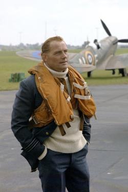 La bataille d'Angleterre ( Battle of Britain ) by GuyHamilton with Robert Shaw, 1969 (photo)