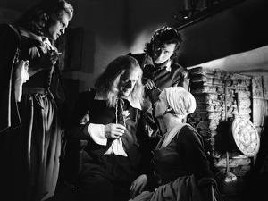 La Belle and la Bete by JeanCocteau with Jean Marais, Marcel Andre, Michel Auclair and Josette Day,