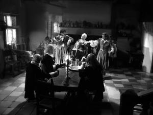 La Belle and la Bete by JeanCocteau with Michel Auclair, Josette Day, Marcel Andre and Jean Marais,