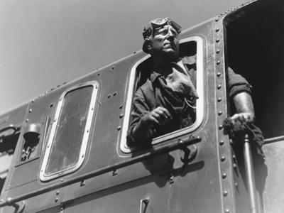 LA BETE HUMAINE, 1938 directed by JEAN RENOIR Jean Gabin (b/w photo)