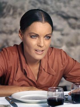LA CALIFFA, 1970 directed by ALBERTO BEVILACQUA Romy Schneider (photo)