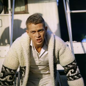 La Canonniere du Yang Tse THE SAND PEBBLES by Robert Wise with Steve McQueen, 1966 (photo)