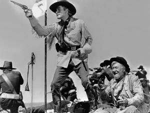 La Charge Fantastique THEY DIED WITH THEIR BOOTS ON by Raoul Walsh with Errol Flynn, 1941 (b/w phot