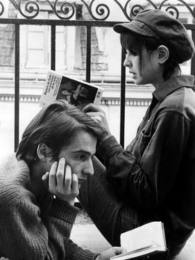 La Chinoise De Jeanlucgodard Avec Jean Pierre Leaud, Anne Wiazemsky, 1967