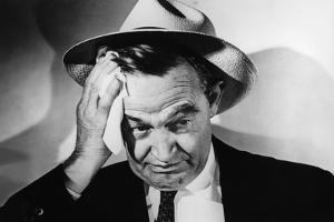 La cite sans voiles THE NAKED CITY by JulesDassin with Barry Fitzgerald, 1948 (b/w photo)