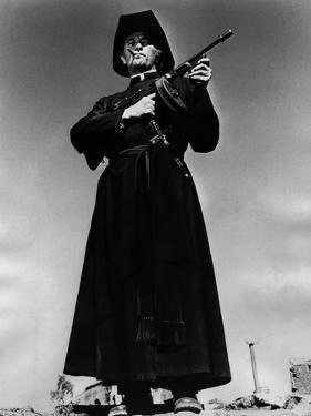 La colere by Dieu (The Wrath of God) by Ralph Nelson with Robert Mitchum, 1972 (b/w photo)