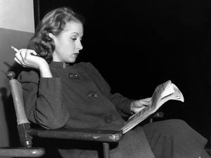 La Coqueluche by Paris THE RAGE OF PARIS by HenryKoster with Danielle Darrieux, 1938 (b/w photo)