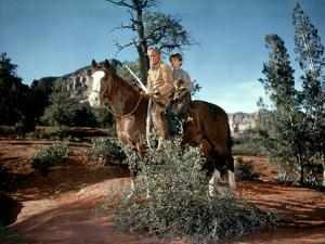 La derniere caravane The Last Wagon by DelmerDaves with Richard Widmark, 1956 (photo)