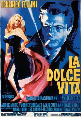 La Dolce Vita - Vintage Style Italian Poster