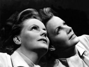 La Femme aux deux Visages TWO-FACED WOMAN by George Cukor with Greta Garbo, 1941 (b/w photo)