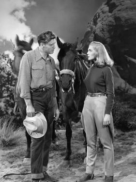 La furie du desert (Desert Fury) by Lewis Allen with Lizabeth Scott and Burt Lancaster, 1947 (b/w p