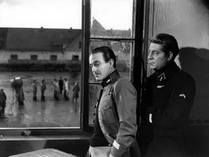 La grande Illusion by JeanRenoir with Pierre Fresnay and Jean Gab 1937 (b/w photo)