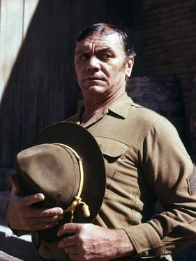 La Horde Sauvage THE WILD BUNCH by Sam Peckinpah with Ernest Borgn 1969 (photo)