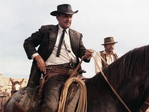 La Horde Sauvage THE WILD BUNCH by Sam Peckinpah with William Holdenn, 1969 (photo)