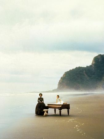 La Lecon De Piano the Piano De Jane Campion Avec Holly Hunter, Anna Paquin, 1993 (Palmed'Or1993)