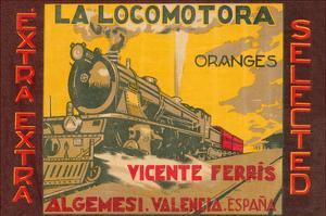 La Locomotora Extra Selected Oranges