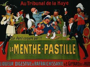 La Menthe-Pastille, circa 1905