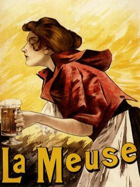 La Meuse Beer, c.1900