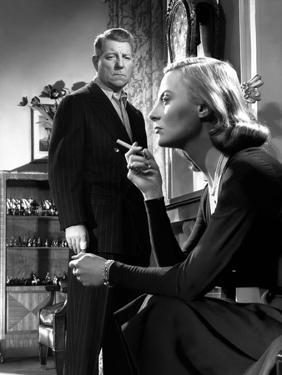 La minute by verite The moment of truth by JeanDelannoy with Jean Gabin and Michele Morgan, 1952 (b