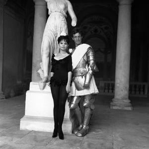 La Novice by Alberto Lattuada with Pascale Petit and Jean-Paul Belmondo, 1961 (b/w photo)