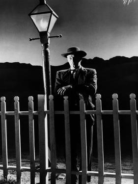 La nuit du chasseur The Night Of The Hunter by CharlesLaughton with Robert Mitchum, 1955 (b/w photo
