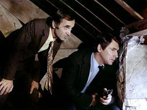 La part des lions by JeanLarriaga with Charles Aznavour and Robert Hosse 1971 (photo)