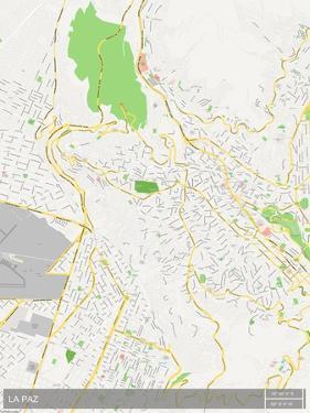 La Paz, Bolivia Map